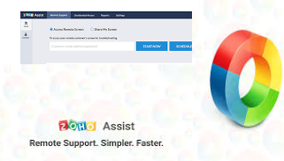 Zoho Assist, remote app for tech support services