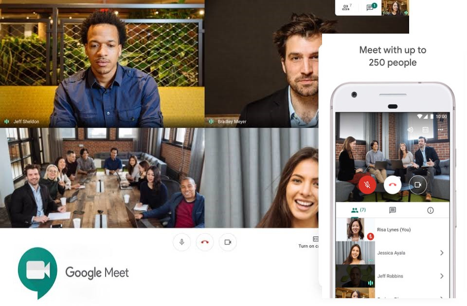 Google meet iPhone, top meeting apps for iPhone and Android users