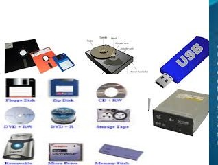 Secondary Storage Devices, Types of secondary storage and their importance