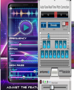 Autotune App that can make music sounds very nice like professional
