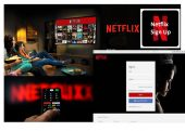 Netflix sign up and downloading trending movies on netflix