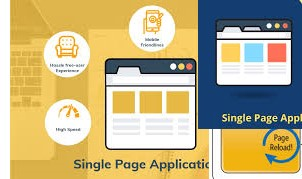 Single Page Web Applications, Single Page Web Apps and Multiple Page Web Apps