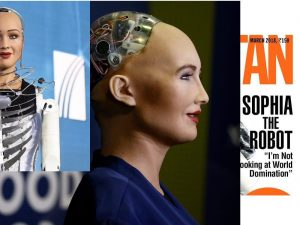 Sophia the robot who she is