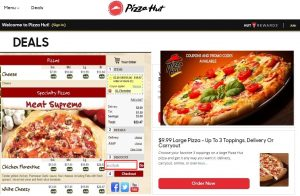 Pizza Hut, Get free coupons on your next Pizza