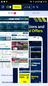 William Hill Mobile, Free Bet Coupons
